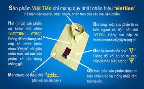 Nhận biết áo Sơ mi nam Việt Tiến thật