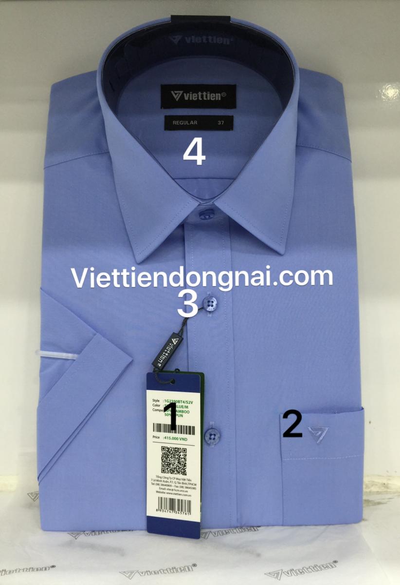 Áo Sơ mi nam Việt Tiến thật 1
