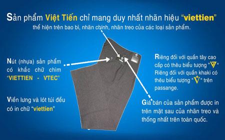 Sản phẩm quần tây Việt Tiến